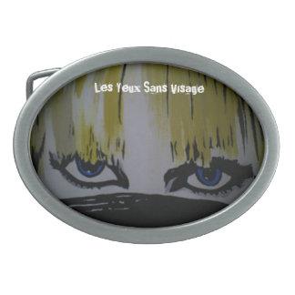 'Les Yeux Sans Visage' Belt Buckle