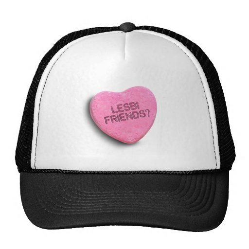 LESBI FRIENDS CANDY -.png Trucker Hat