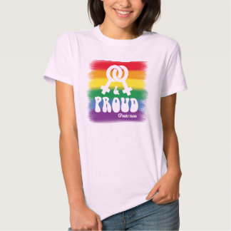 Lesbian and proud tees