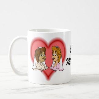 Lesbian Bi-Racial Couple Coffee Mug