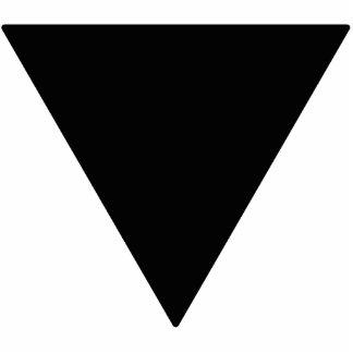 Lesbian Black Triangle Cutout