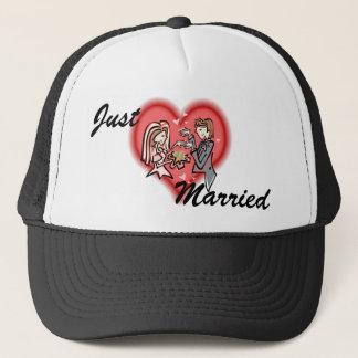 Lesbian Bride & Groom Trucker Hat