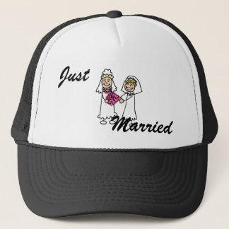Lesbian Brides In Love Trucker Hat