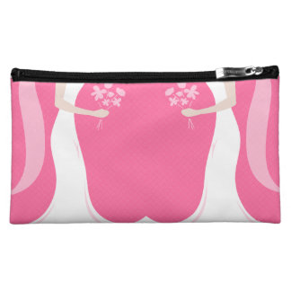 Lesbian Brides Personalized Cosmetic Bag