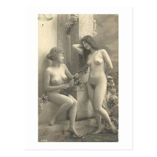 Lesbian Erotica Postcard