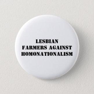 lesbian farmers against homonationalism pinback button
