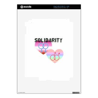 Lesbian Gay Solidarity iPad 2 Decals