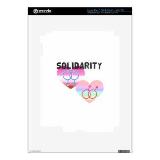 Lesbian Gay Solidarity iPad 3 Decals