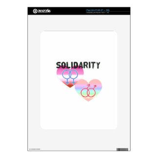 Lesbian Gay Solidarity iPad Decals