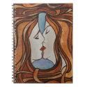 Lesbian Kiss (Art Nouveau Style) Notebooks