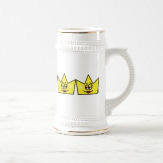 Lesbian Lesbian Queen Queen Crown Coroa Beer Stein