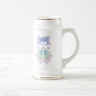Lesbian Lesbro Stein  Coffee Mugs