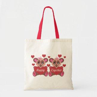 Lesbian Love Budget Tote Bag