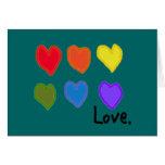 "Lesbian ""Love"" Card"