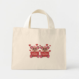 Lesbian Love Mini Tote Bag