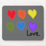 "Lesbian ""Love"" Mouse Pad"