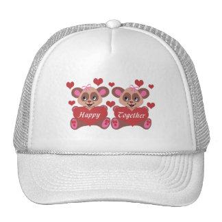Lesbian Love Trucker Hat