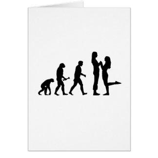 Lesbian Marriage Evolution Card