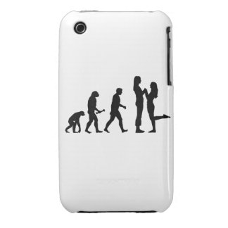 Lesbian Marriage Evolution iPhone 3 Covers