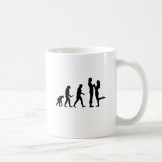 Lesbian Marriage Evolution Classic White Coffee Mug