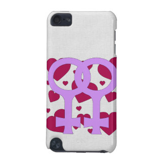 Lesbian Marriage Hearts iPod Touch 5G Cover