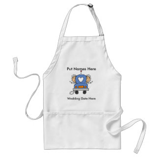 Lesbian Marriage To Customize Adult Apron