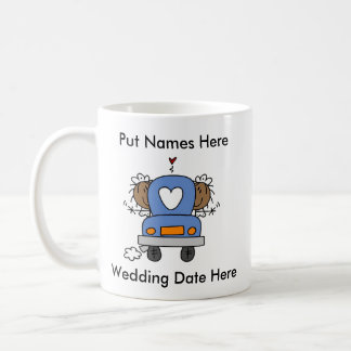 Lesbian Marriage To Customize Coffee Mug