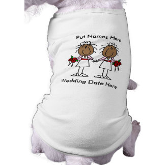 Lesbian Marriage To Customize Pet Clothing