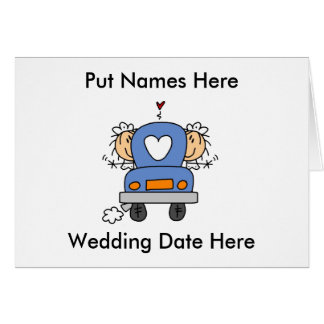 Lesbian Marriage To Customize Greeting Cards