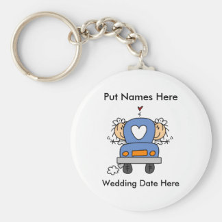Lesbian Marriage To Customize Key Chains