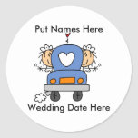 Lesbian Marriage To Customize Sticker
