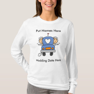Lesbian Marriage To Customize T-Shirt