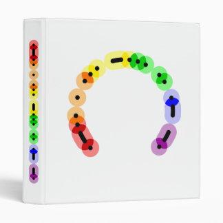 Lesbian Morse Code Avery Binder