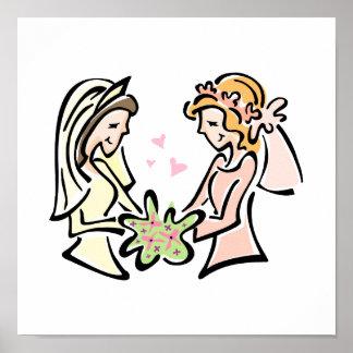 Lesbian Pair Poster