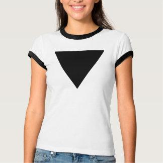 Lesbian Pride Black Triangle T-Shirt
