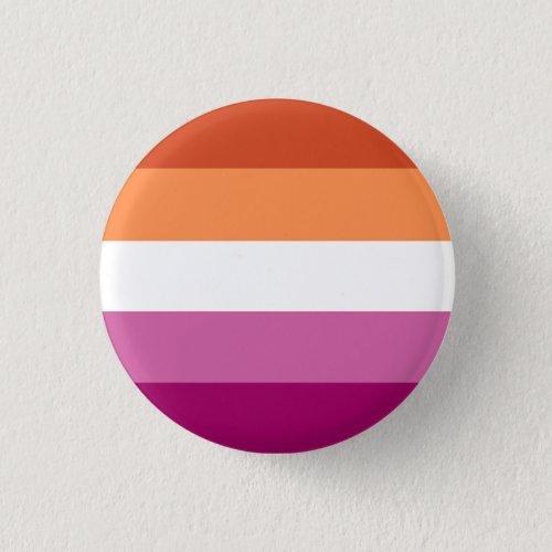 Lesbian Pride Button OrangePink