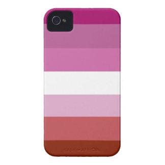Lesbian pride flag iPhone 4 Case-Mate case