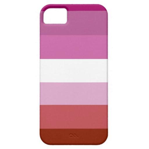 Lesbian pride flag iPhone 5 cover