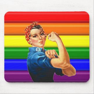 Lesbian Pride Mouse Pad