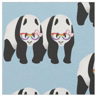 Lesbian Pride Pandas Fabric