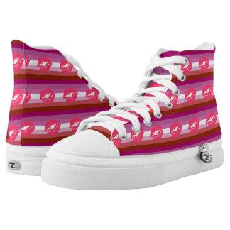 Lesbian Pride Printed Shoes