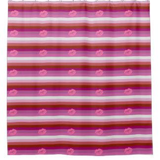 Lesbian Pride Shower Curtain