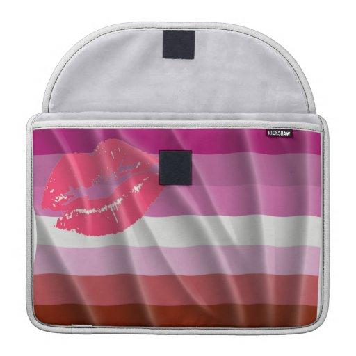 Lesbian Pride Sleeves For MacBook Pro