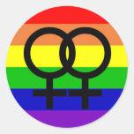 Lesbian Pride Sticker