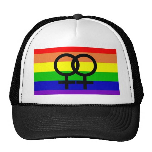 Lesbian Pride Trucker Hat