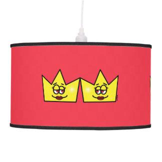 Lesbian Queen Queen Crown Coroa Hanging Luster Hanging Lamp
