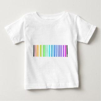 Lesbian Rainbow Barcode Baby T-Shirt