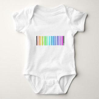 Lesbian Rainbow Barcode Shirt
