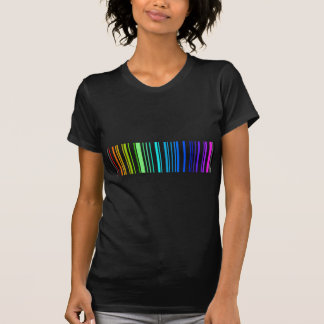 Lesbian Rainbow Barcode T-Shirt