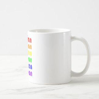 Lesbian Rainbow Coffee Mug